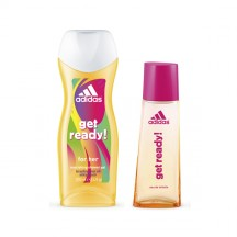 Adidas Get Ready for Her SET - Edt 50 ml + Shower Gel 250ml