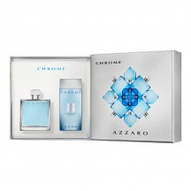 Chrome Cofre EDT 100 ml + Shower Gel - Azzaro