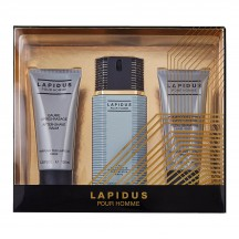 Lapidus Pour Homme Cofre EDT 100 ml + After Shave + Shower Gel - Ted Lapidus