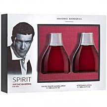 Spirit For Men Estuche EDT 100 ml + After Shave - Antonio Banderas