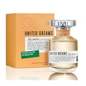 United Dreams Stay Positive EDT 80 ml - United Colors Of Benetton