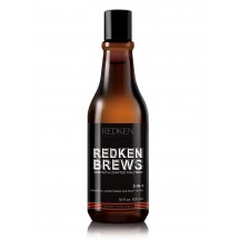 Shampoo 3 en 1 300 ml - Redken Brews