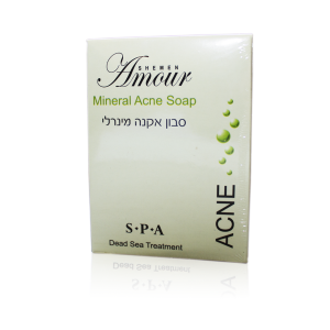 Jabon Mineral Anti-Acne 125 mg - Shemen Amour
