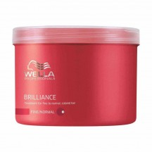 Máscara Cabello Delgado a Normal Brilliance 500 ml - Wella Professionals